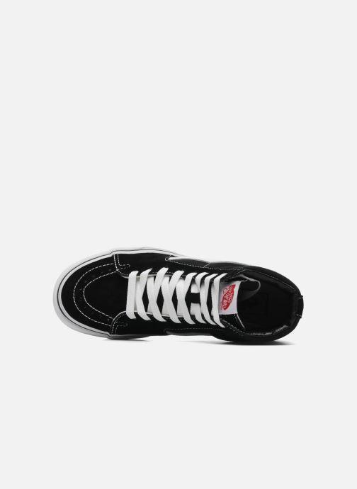 Sneaker Vans SK8 Hi W schwarz ansicht von links