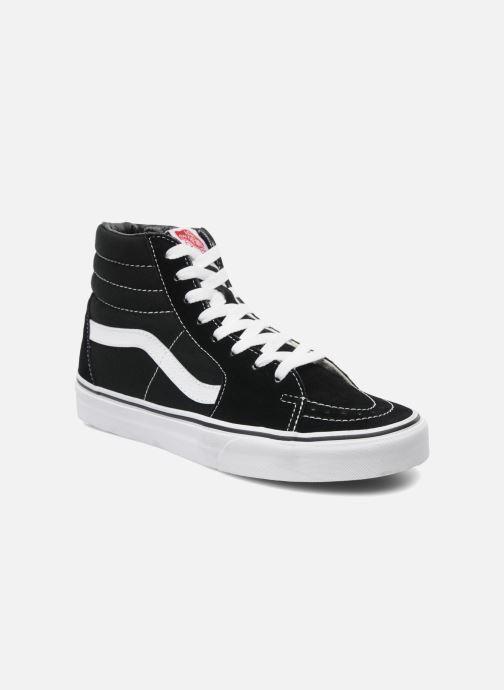 Sneaker Vans SK8 Hi W schwarz detaillierte ansicht/modell