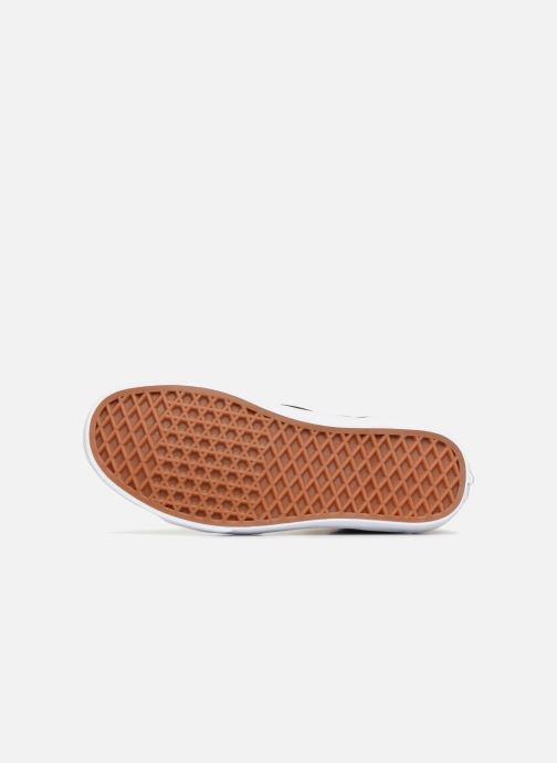 Baskets Vans SK8 Hi W Gris vue haut