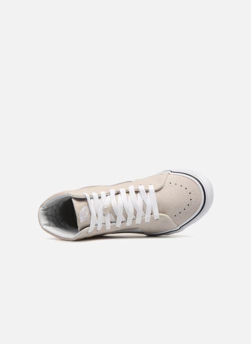 Baskets Vans Hi Lining W Sk8 White Silver true sQdthrC