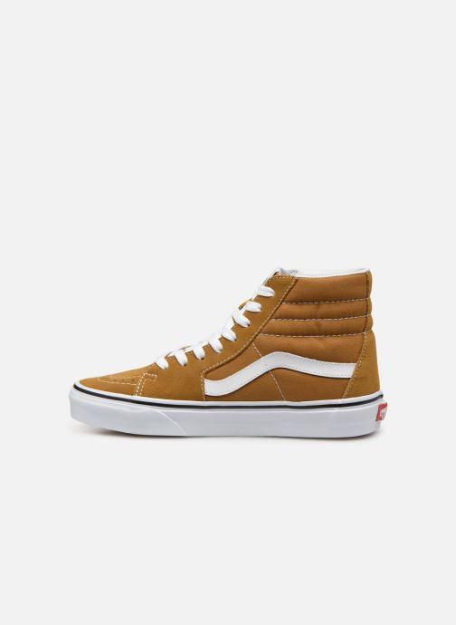 Sneakers Vans SK8 Hi W Bruin voorkant