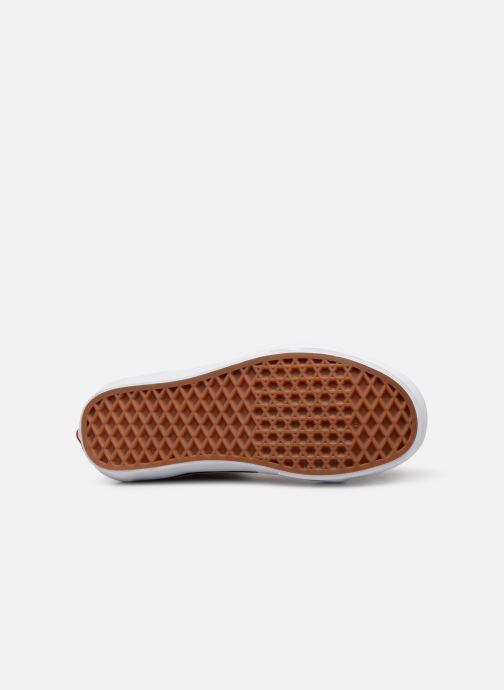 Sneaker Vans SK8 Hi W weinrot ansicht von oben
