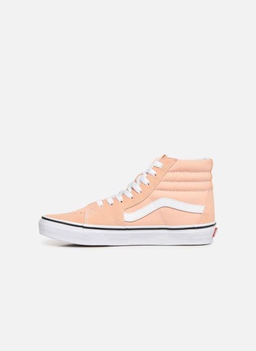 Sneakers Vans SK8 Hi W Beige voorkant
