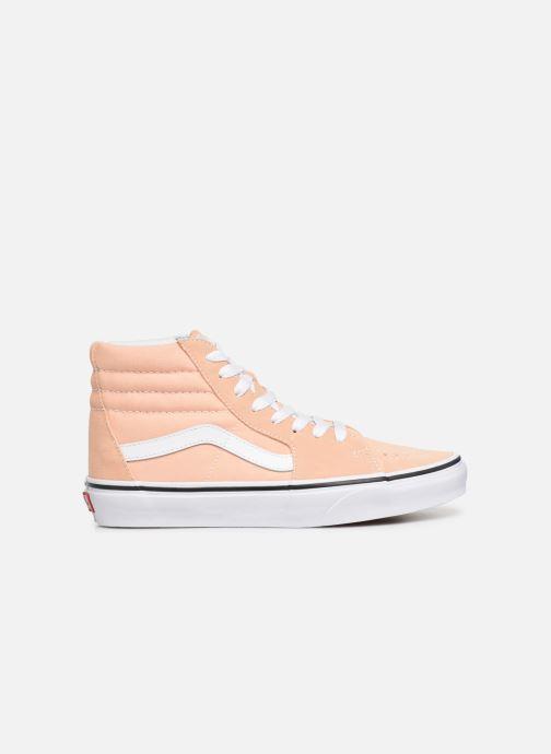 Sneakers Vans SK8 Hi W Beige achterkant