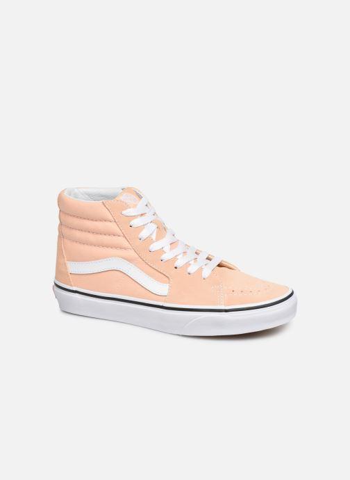 Sneakers Vans SK8 Hi W Beige detail