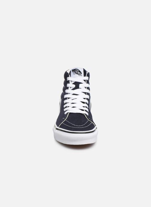Baskets Vans SK8 Hi W Bleu vue portées chaussures