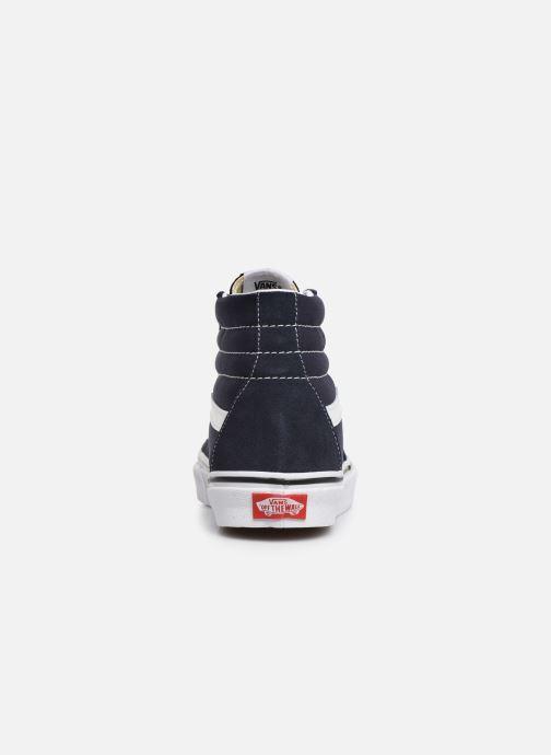 Sneaker Vans SK8 Hi W blau ansicht von rechts