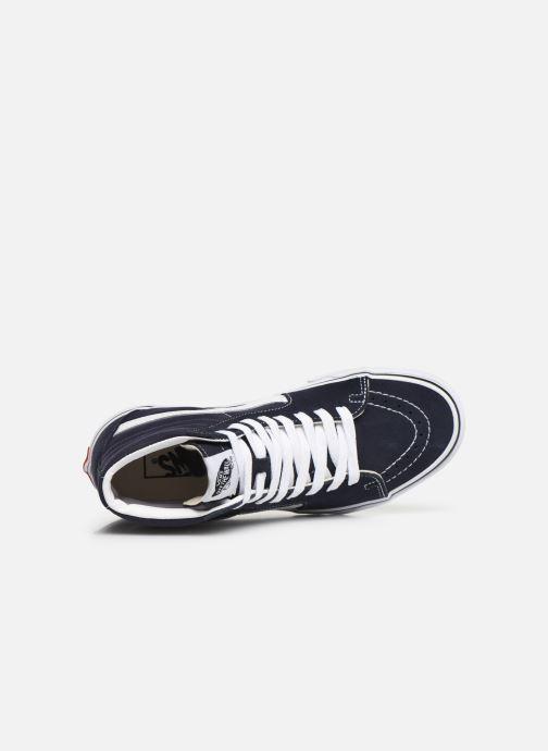 Sneaker Vans SK8 Hi W blau ansicht von links