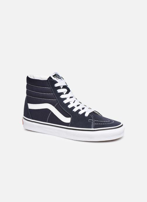 Sneaker Vans SK8 Hi W blau detaillierte ansicht/modell