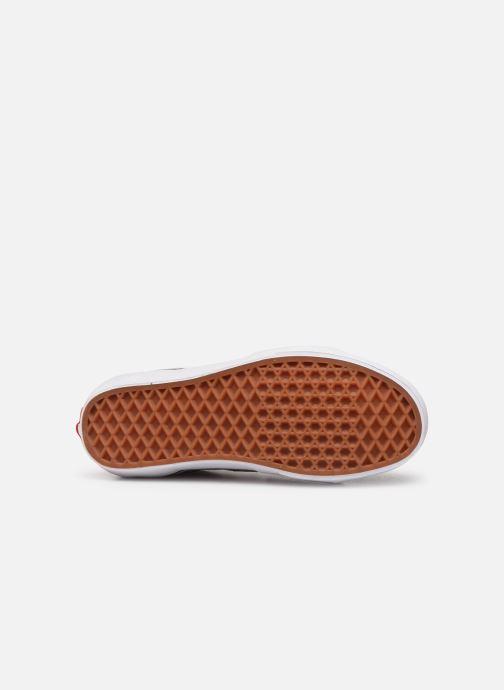 Sneakers Vans SK8 Hi W Vinröd bild från ovan