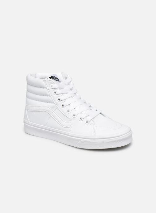 Baskets Vans SK8 Hi W Blanc vue détail/paire