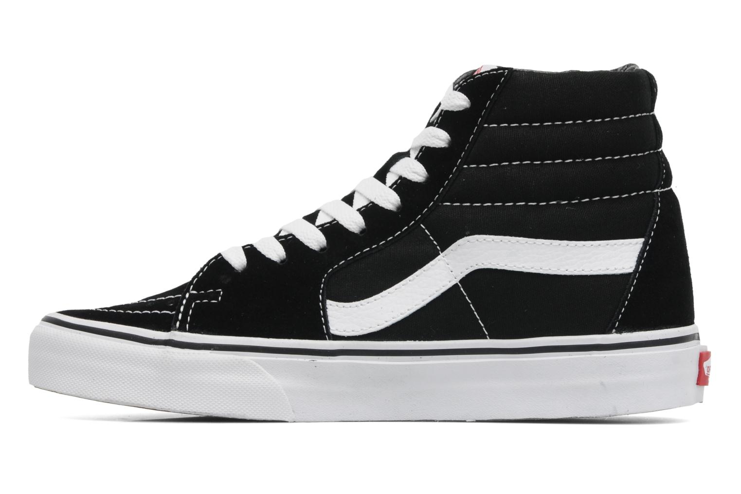 Trainers Vans SK8 Hi W Black front view