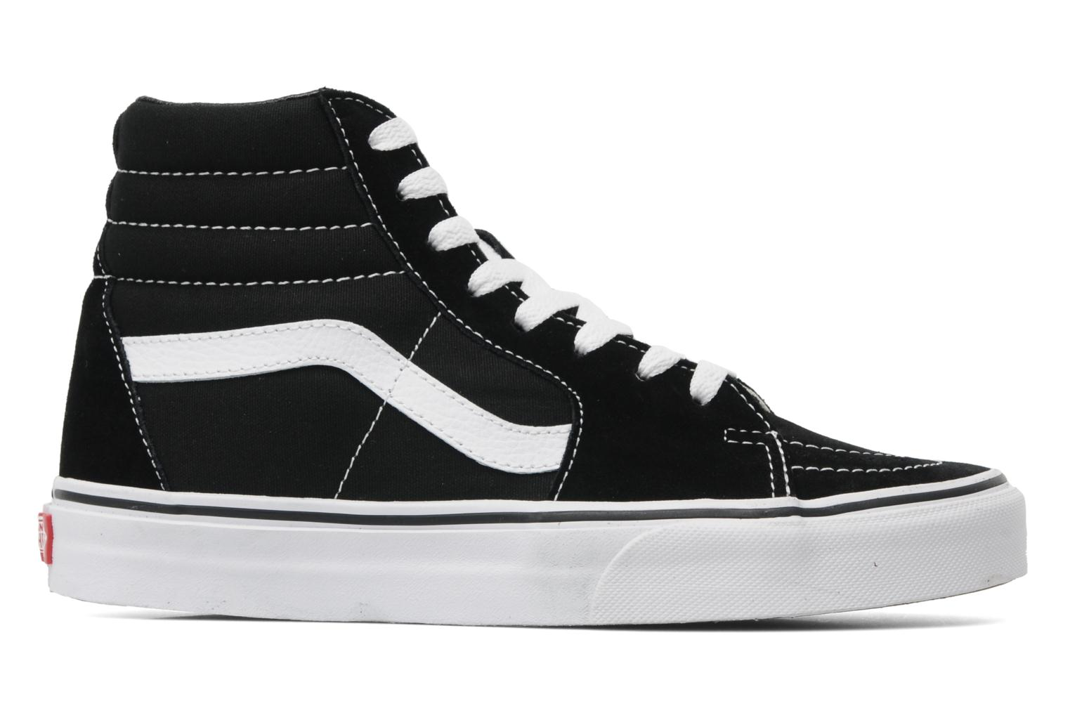 Trainers Vans SK8 Hi W Black back view