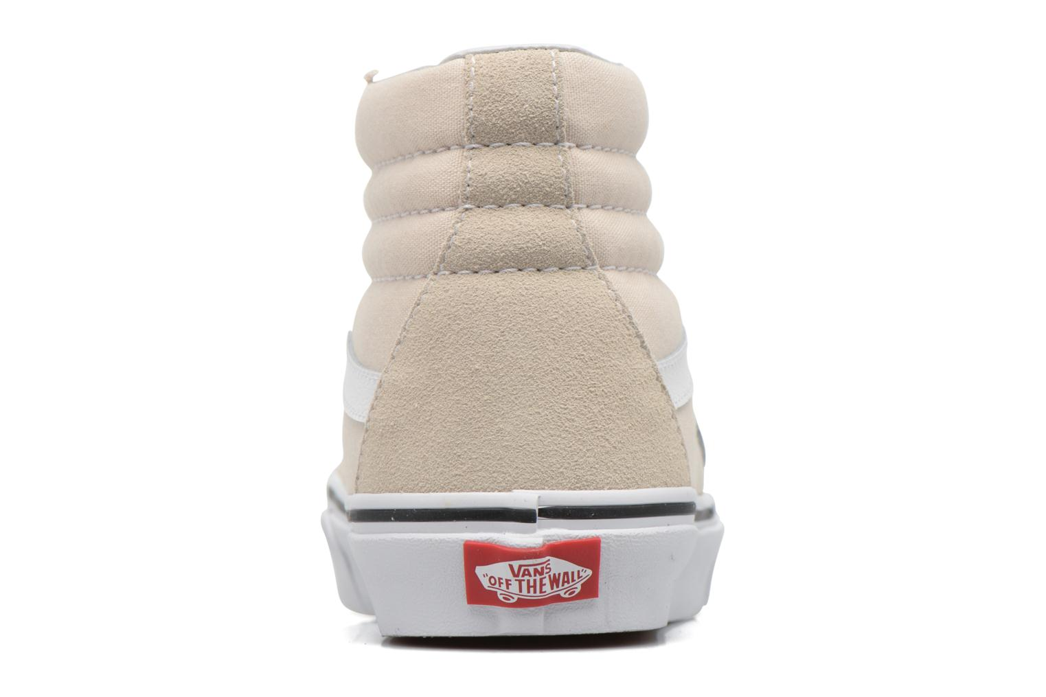 Trainers Vans SK8 Hi W White view from the right