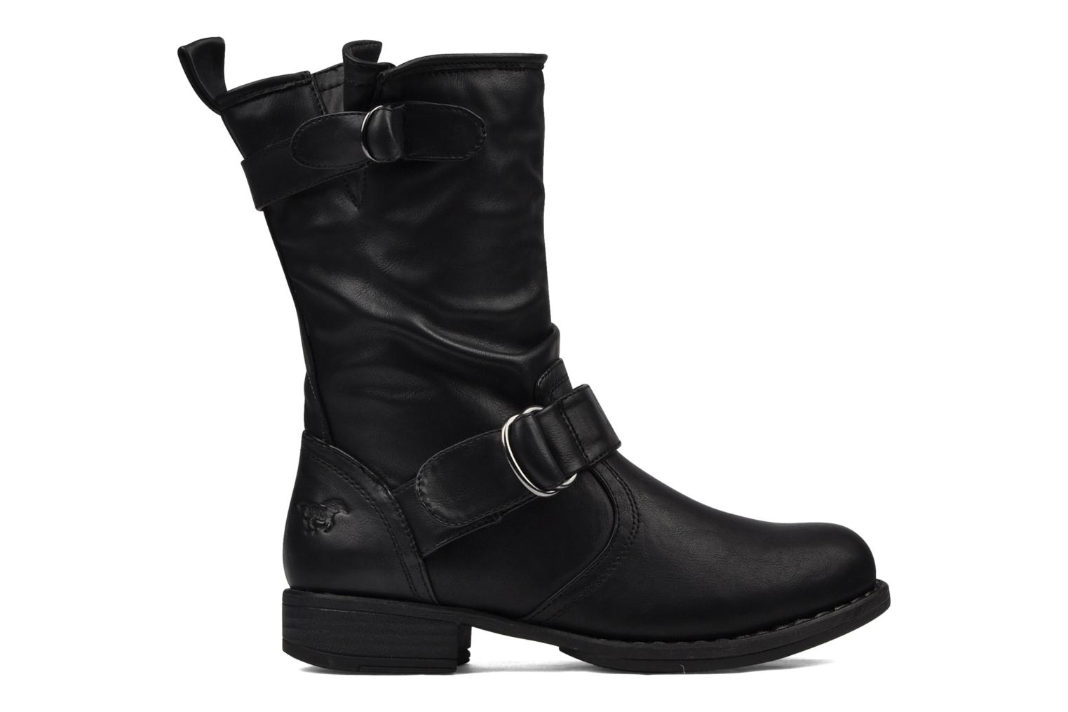 Ankle boots Mustang shoes Brea Black back view
