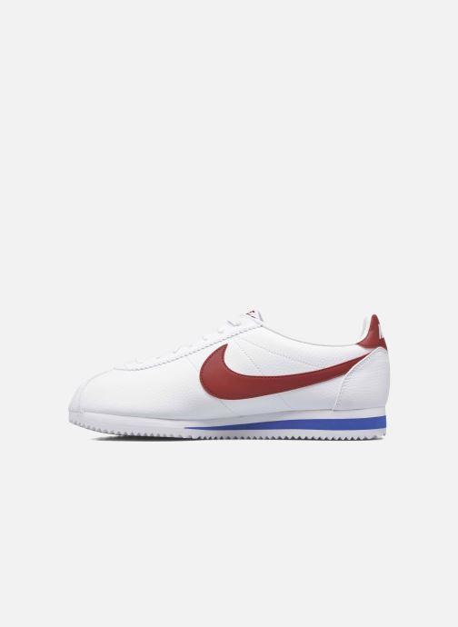 Sneakers Nike Classic Cortez Leather Bianco immagine frontale