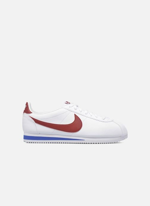 Sneakers Nike Classic Cortez Leather Wit achterkant