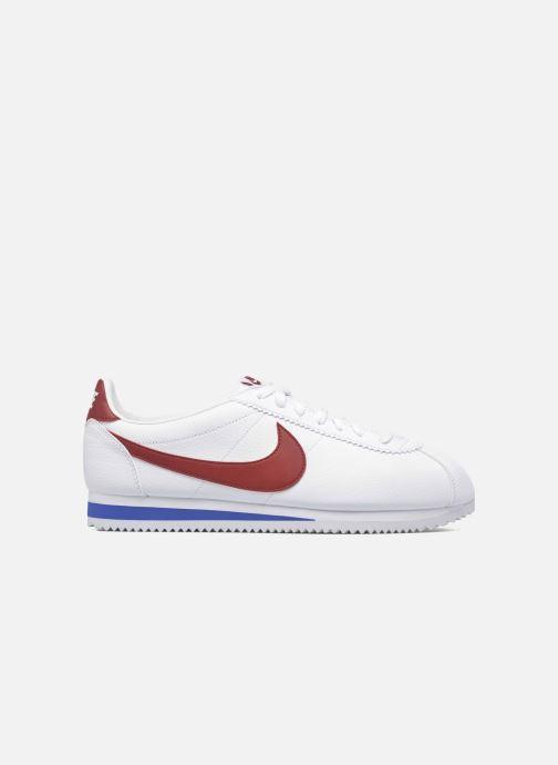 Sneakers Nike Classic Cortez Leather Bianco immagine posteriore