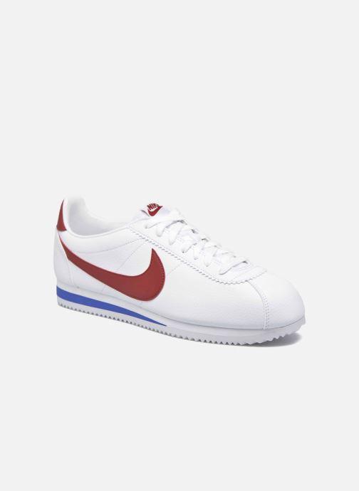 Sneakers Nike Classic Cortez Leather Hvid detaljeret billede af skoene