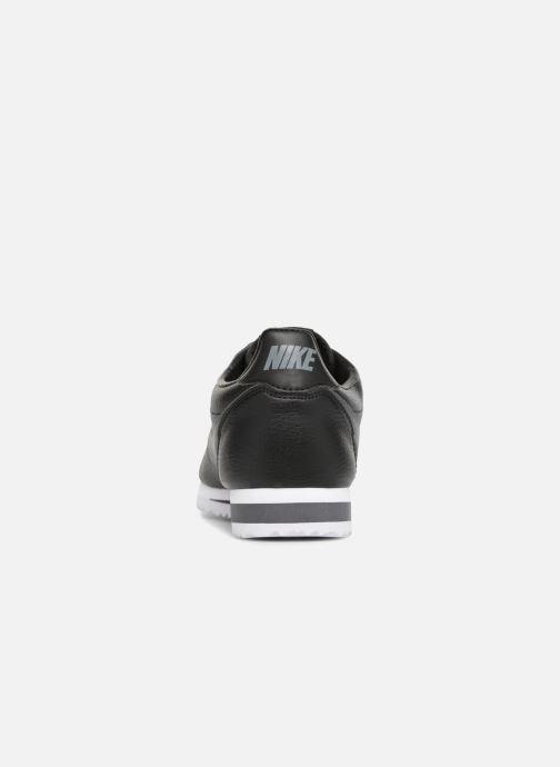 Baskets Nike Classic Cortez Leather Noir vue droite