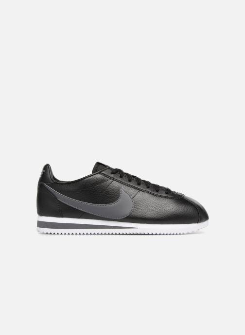 Sneaker Nike Classic Cortez Leather schwarz ansicht von hinten