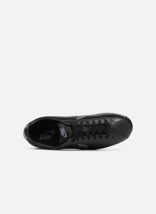 Baskets Nike Classic Cortez Leather Noir vue gauche