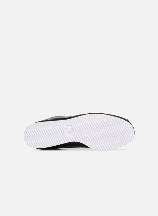 Sneaker Nike Classic Cortez Leather schwarz ansicht von oben