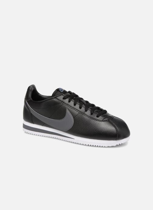 Baskets Nike Classic Cortez Leather Noir vue détail/paire