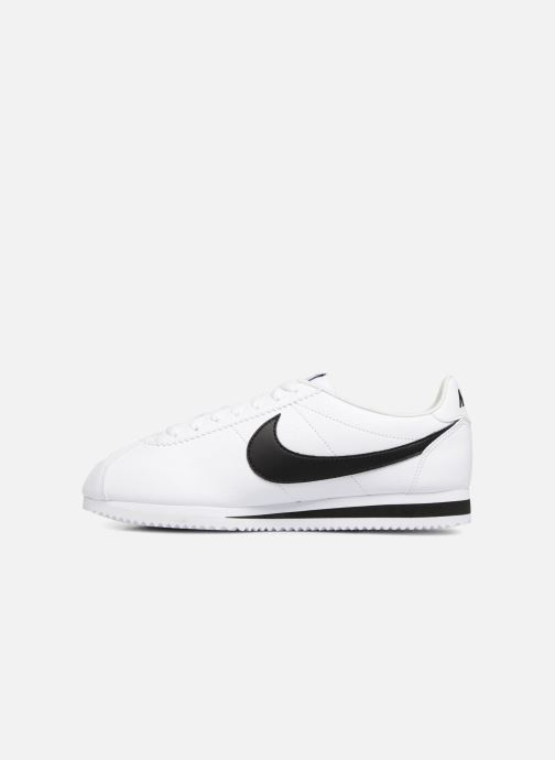 Deportivas Nike Classic Cortez Leather Blanco vista de frente
