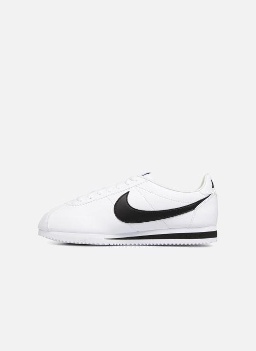 Baskets Nike Classic Cortez Leather Blanc vue face