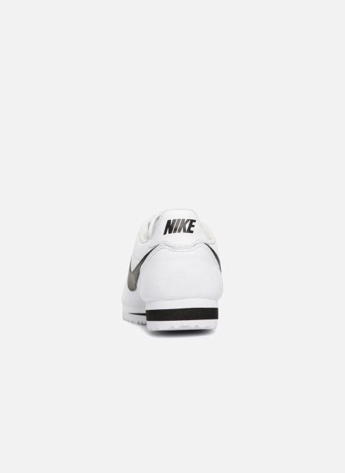 Baskets Nike Classic Cortez Leather Blanc vue droite