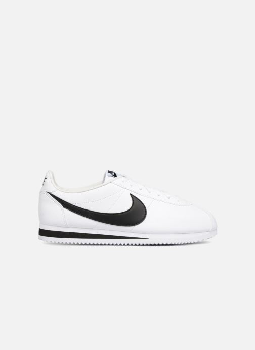 Baskets Nike Classic Cortez Leather Blanc vue derrière