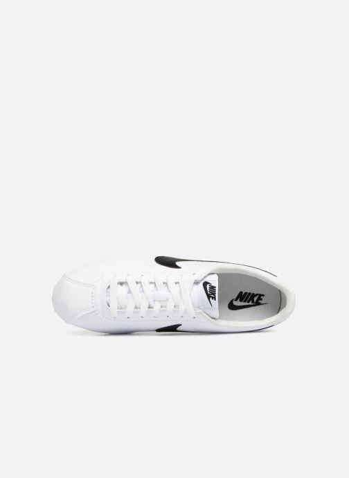 Baskets Nike Classic Cortez Leather Blanc vue gauche