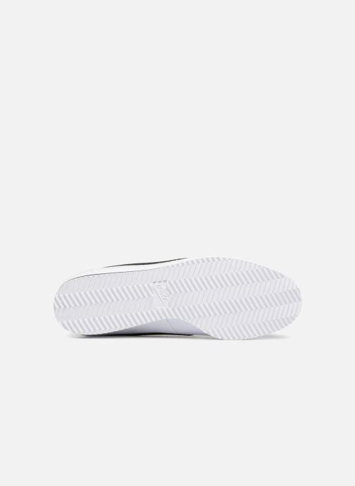 Baskets Nike Classic Cortez Leather Blanc vue haut