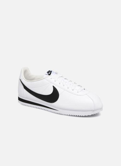 Deportivas Nike Classic Cortez Leather Blanco vista de detalle / par