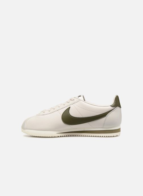 Sneakers Nike Classic Cortez Leather Wit voorkant