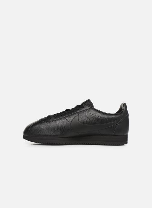 Sneakers Nike Classic Cortez Leather Zwart voorkant