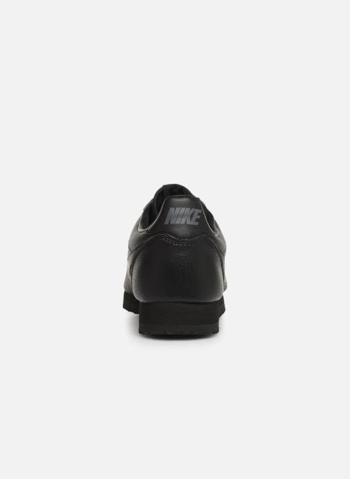 Sneaker Nike Classic Cortez Leather schwarz ansicht von rechts