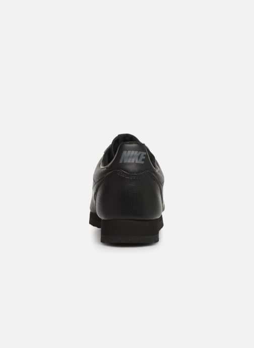 Trainers Nike Classic Cortez Leather Black view from the right