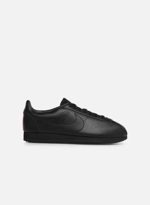 Deportivas Nike Classic Cortez Leather Negro vistra trasera
