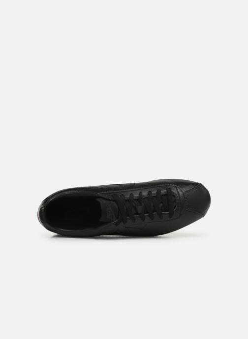 Sneaker Nike Classic Cortez Leather schwarz ansicht von links