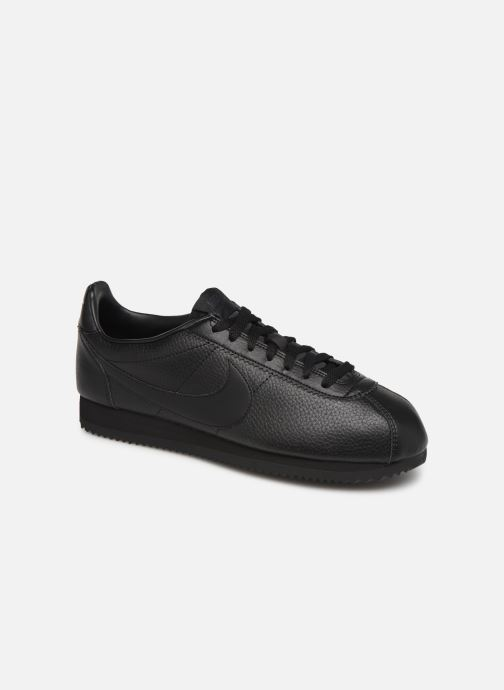 Trainers Nike Classic Cortez Leather Black detailed view/ Pair view