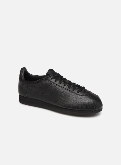 Sneakers Nike Classic Cortez Leather Zwart detail