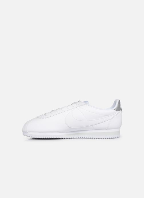 Trainers Nike Classic Cortez Leather White front view