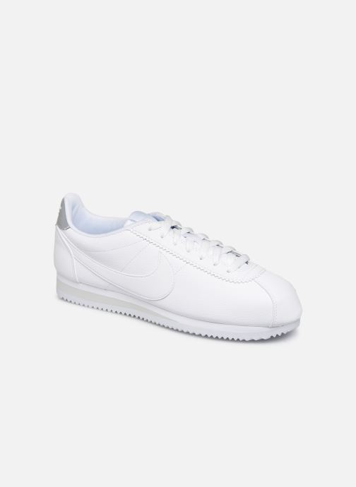 Trainers Nike Classic Cortez Leather White detailed view/ Pair view