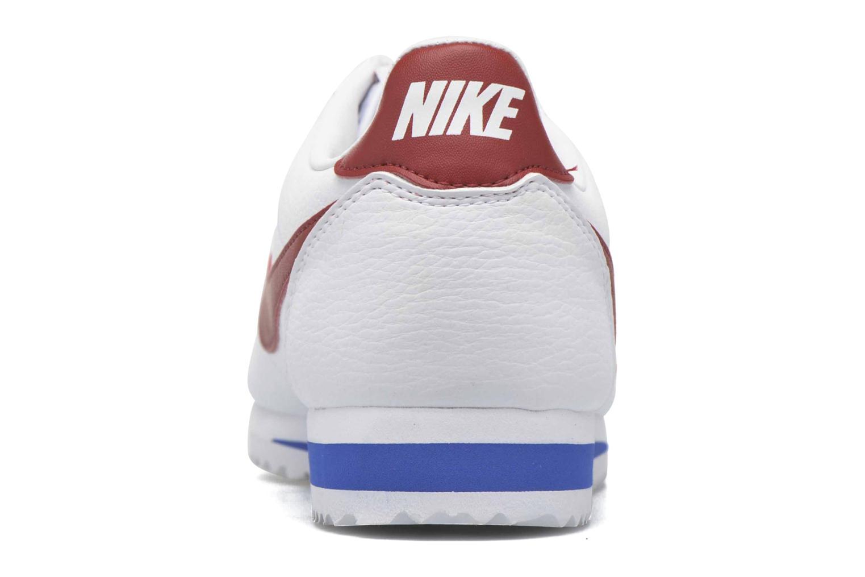 Sneakers Nike Classic Cortez Leather Bianco immagine destra