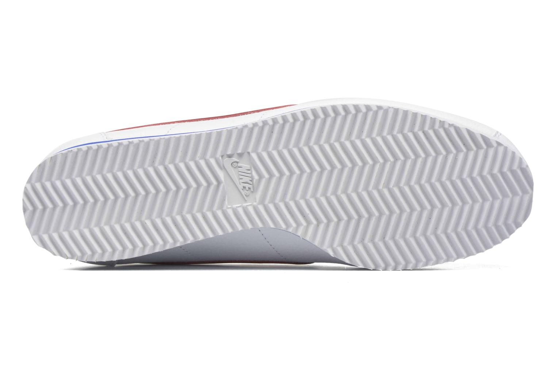 Sneakers Nike Classic Cortez Leather Bianco immagine dall'alto