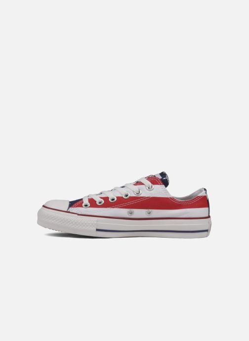 Baskets Converse Chuck Taylor All Star Stars & Bars ox w Blanc vue face