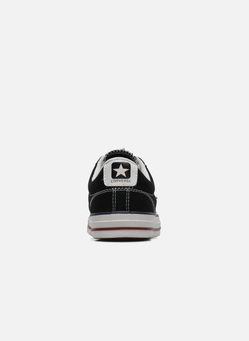 Sneaker Converse Star Player Ev Canvas Ox M schwarz ansicht von rechts