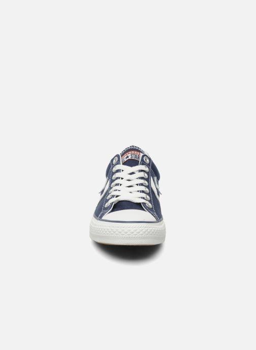 Sneaker Converse Star Player Ev Canvas Ox M blau schuhe getragen